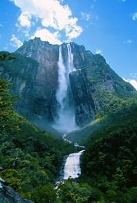 Венесуэла водопад анхель